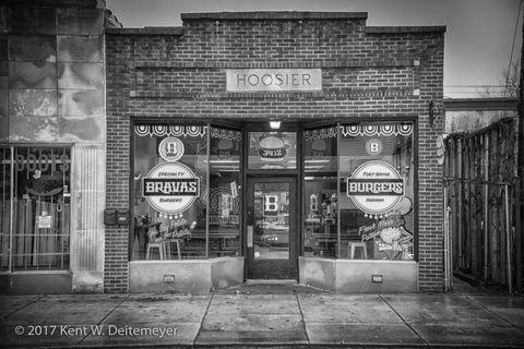 Bravas Burgers on Fairfield Avenue in Fort Wayne, Indiana