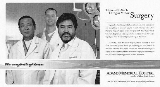Adams Memorial Hospital
