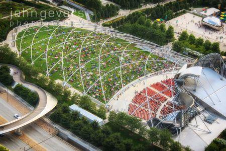Millennium Park Aerial 2
