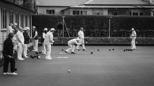 Lawn Bowls, Arrowtown  •  New Zealand