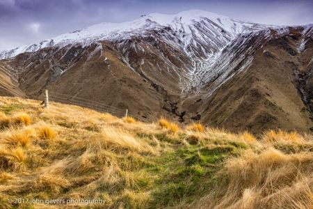 Top of Wedding Hill, Rakaia Gorge