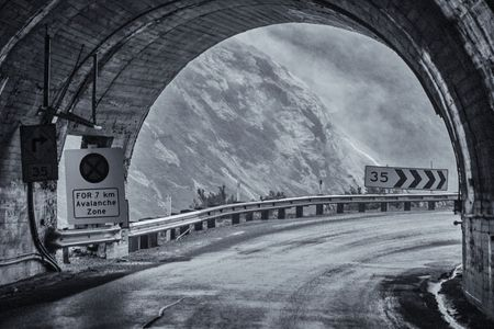 Homer Tunnel, Eastern Portal