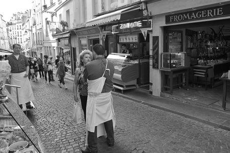 Tête-à-tête, rue Mouffetard