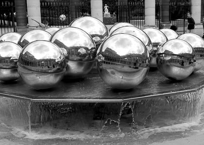 La fontaine, Palais Royal