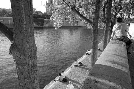 L'été indien au bord de la Seine