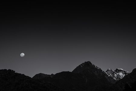 Alpine Moon Glow