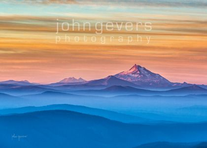 Mount Jefferson Sunrise • Oregon