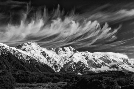 Mares Tails 2  •  Mount Cook