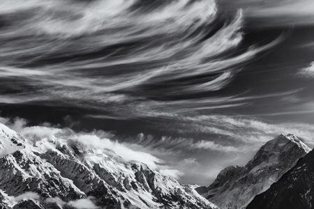 Mares Tails 1  •  Mount Cook