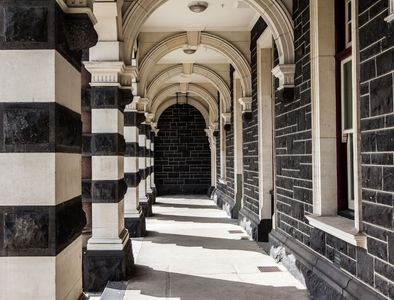 Train Station Portico • Dunedin, New Zealand