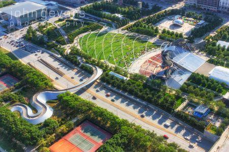 Millennium Park Aerial 1