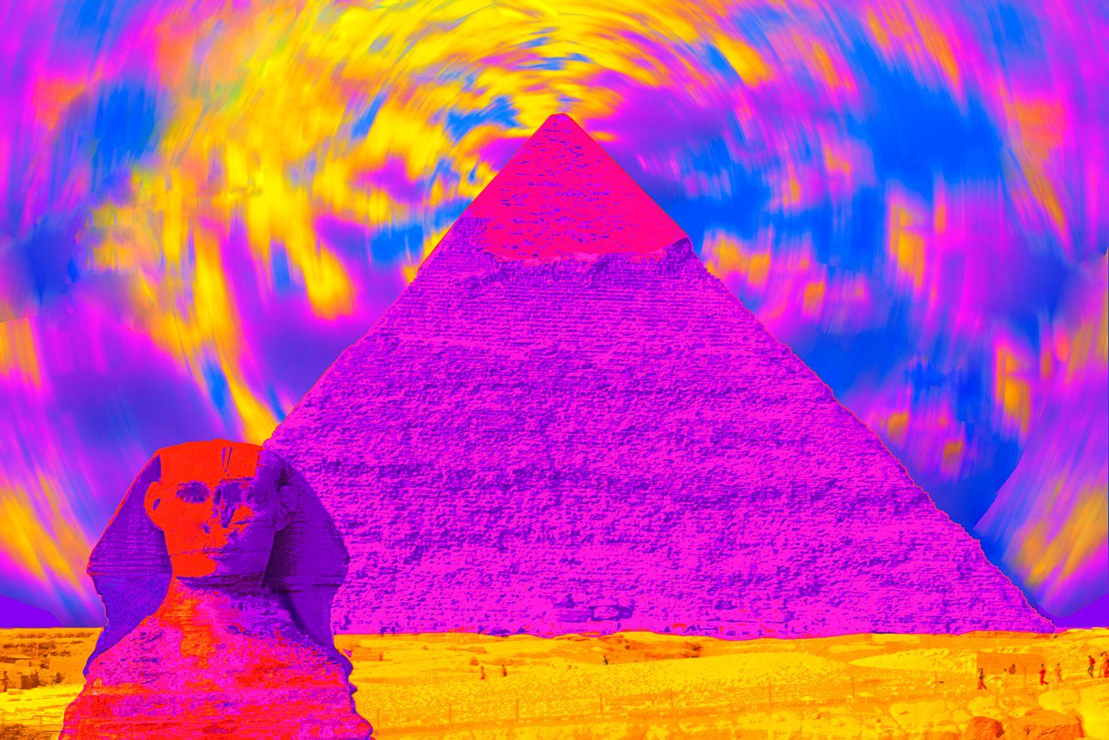 Gottlieb-Egypt Pyramid & Sphnix