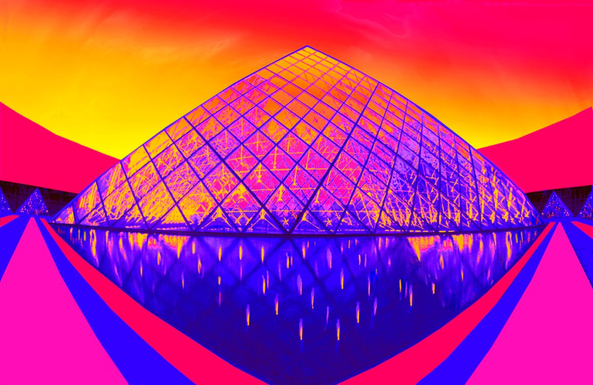Gottlieb Jane-Paris Pyramid at Dusk-.jpg