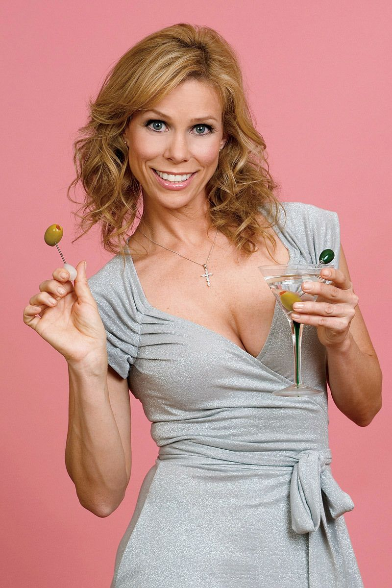 Cheryl Hines shot for Heeb magazine