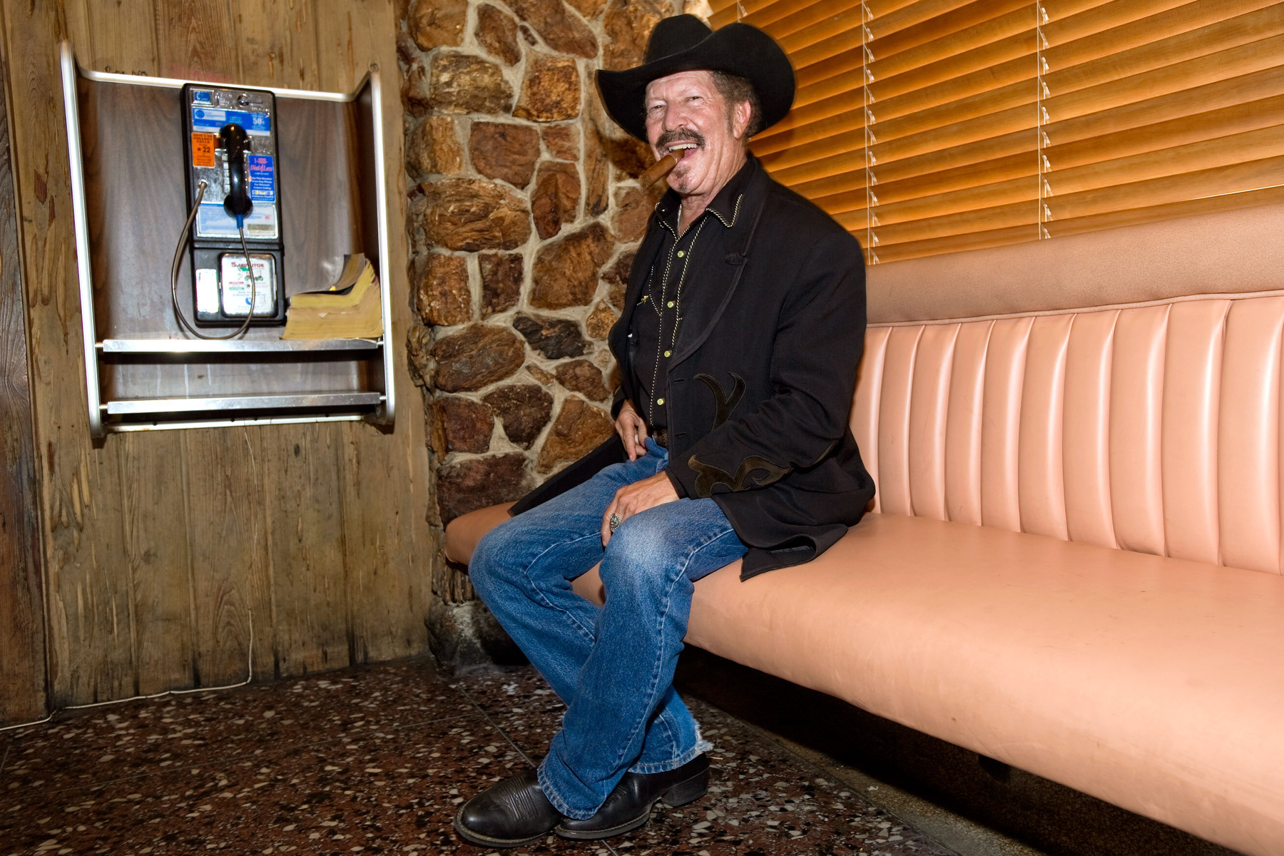 Kinky Friedman shot at Canter's Deli for Conqueroo