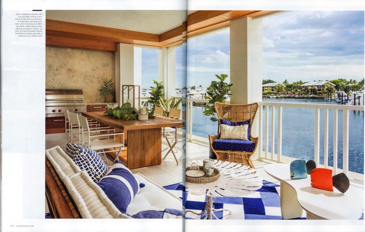 Luxe Magazine pg 7 & 8