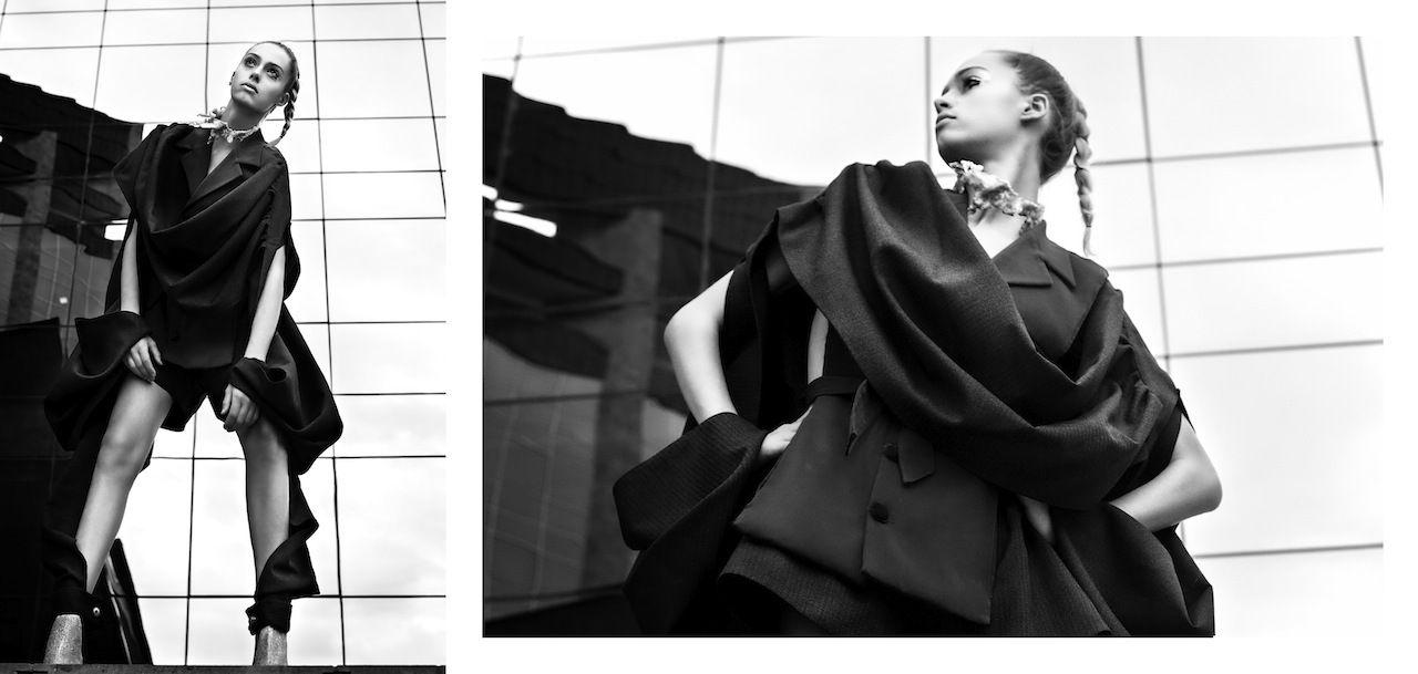 Editorial : Geometric EurhythmicPh. Martina GiachiStylist: Elisa SedoniModel: rebecca@casting florenceClothing: Sofie Ingrid Christina Andersson  www.bysica.comPublished on Elegant Magazine USA - Dec '13 issuewww.elegantmag.com
