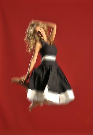 Kellie Moody, profoundly deaf model.