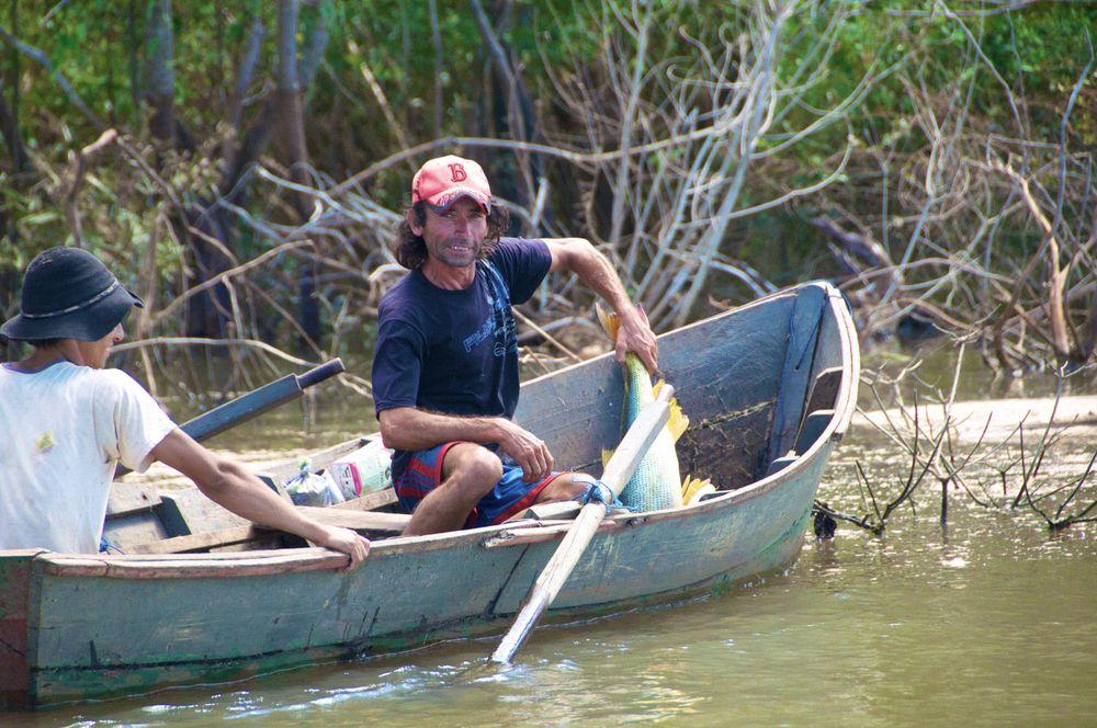 Rio Parana, Paraguay-Argentina Border