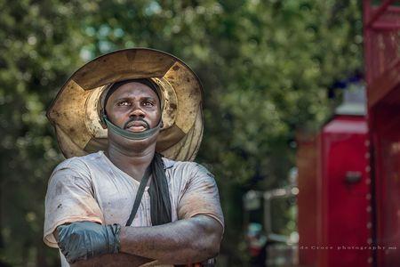 Roughneck Portrait Gaze