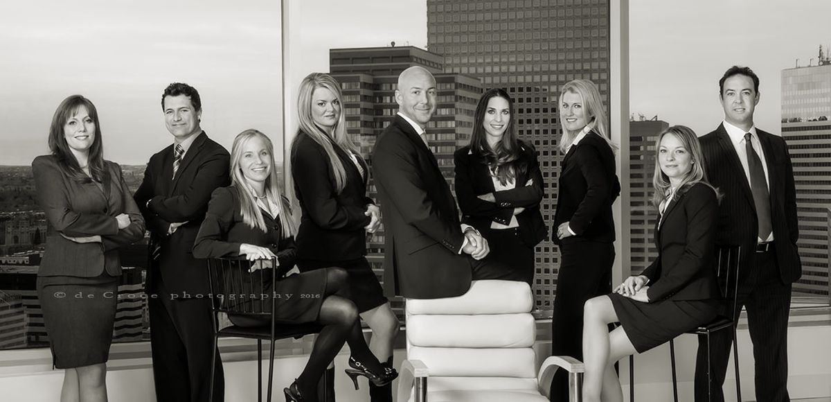 Corporate-Business-Group Black & White