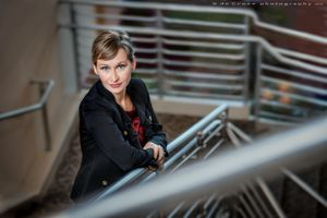 Corporate Denver Photography On Stairs