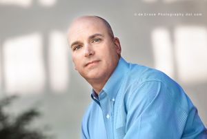 Denver executive businessman casual portrait