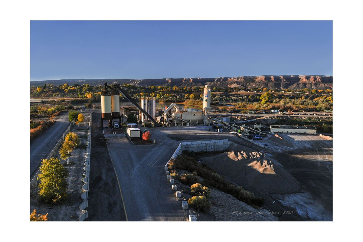 Industrial Drone Photography Colorado