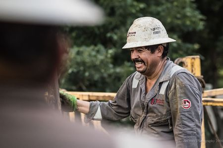 Roughneck Laughing Photo.
