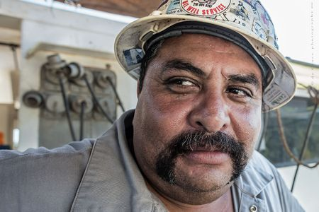 Roughneck Operator Portrait