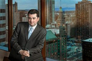 Business executive portrait photography