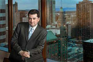 Business executive portrait photography