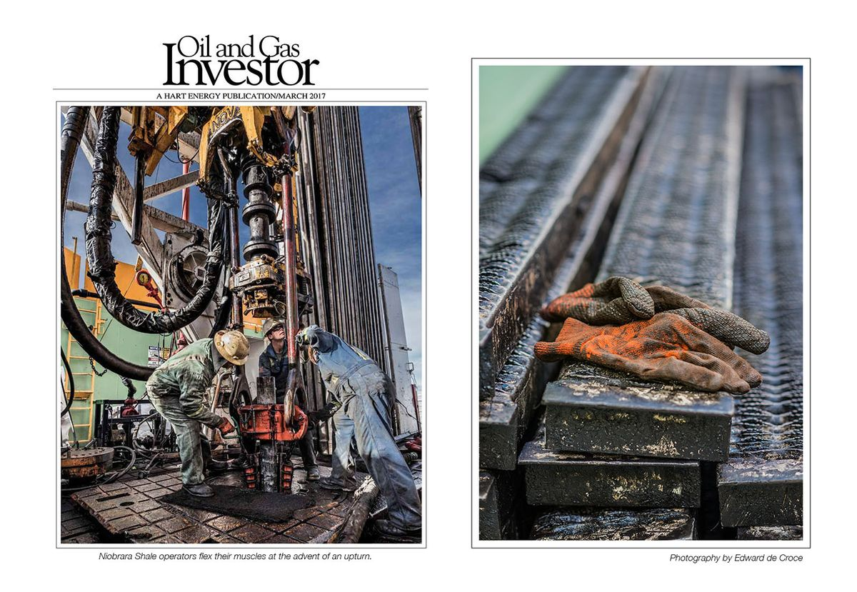 Oil & Gas Investor Cover Photography