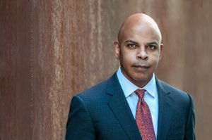 African American Business Executive Portrait Photography