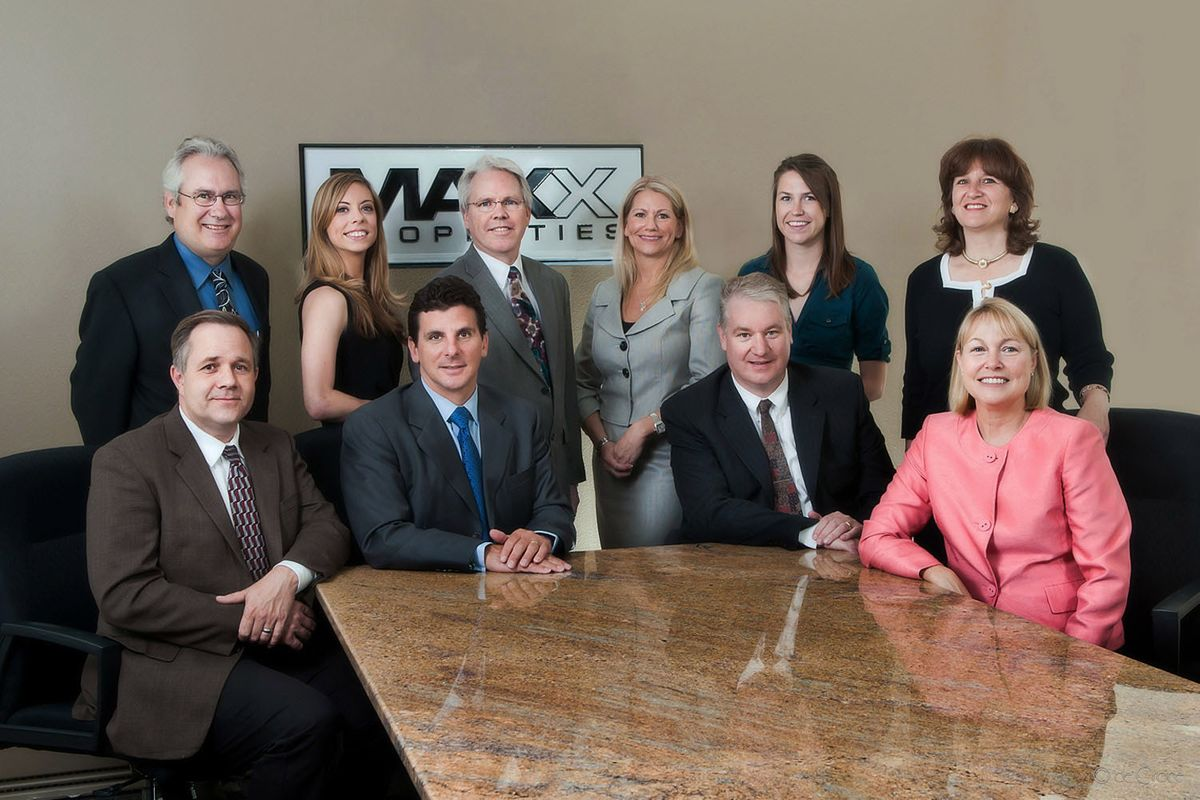 Formal Business Group Portrait