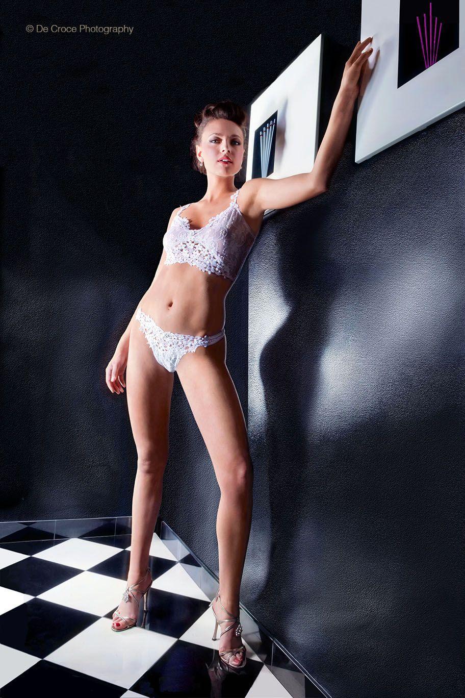 Advertising Photo Denver: Model in Men's Room