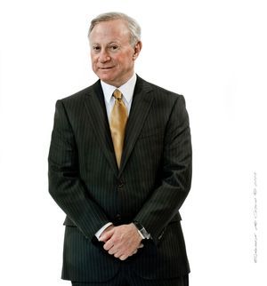 CEO executive portrait photography Larry Mizel