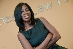 African American Attorney Portrait Photography