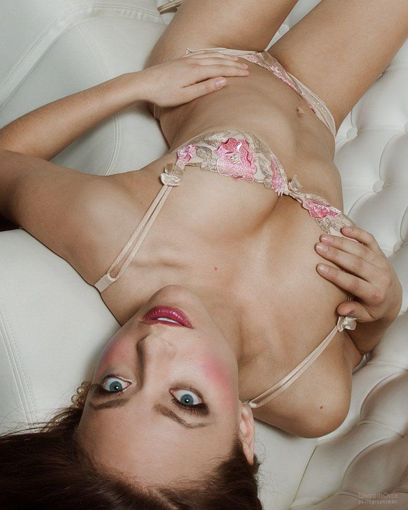 Lingerie Model Lingerie Advertisement