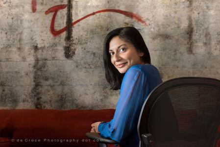 Indian Woman Executive Portrait Photograpgy