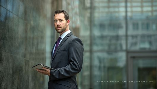 Corporate Photyography - Executive With Pad ©2015