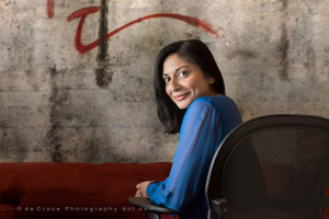 Indian Woman Executive Portrait Photograpgy