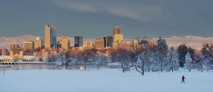 Denver Winter Scene