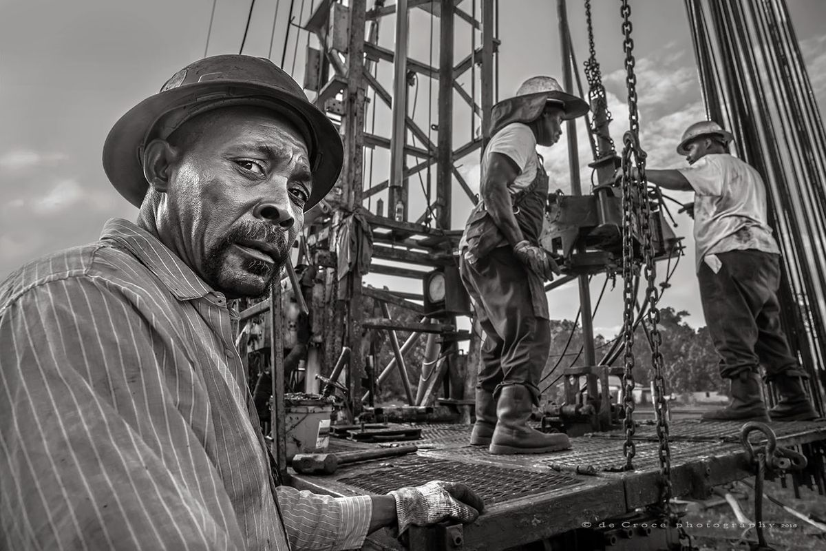 Classic Roughneck Portrait Photography