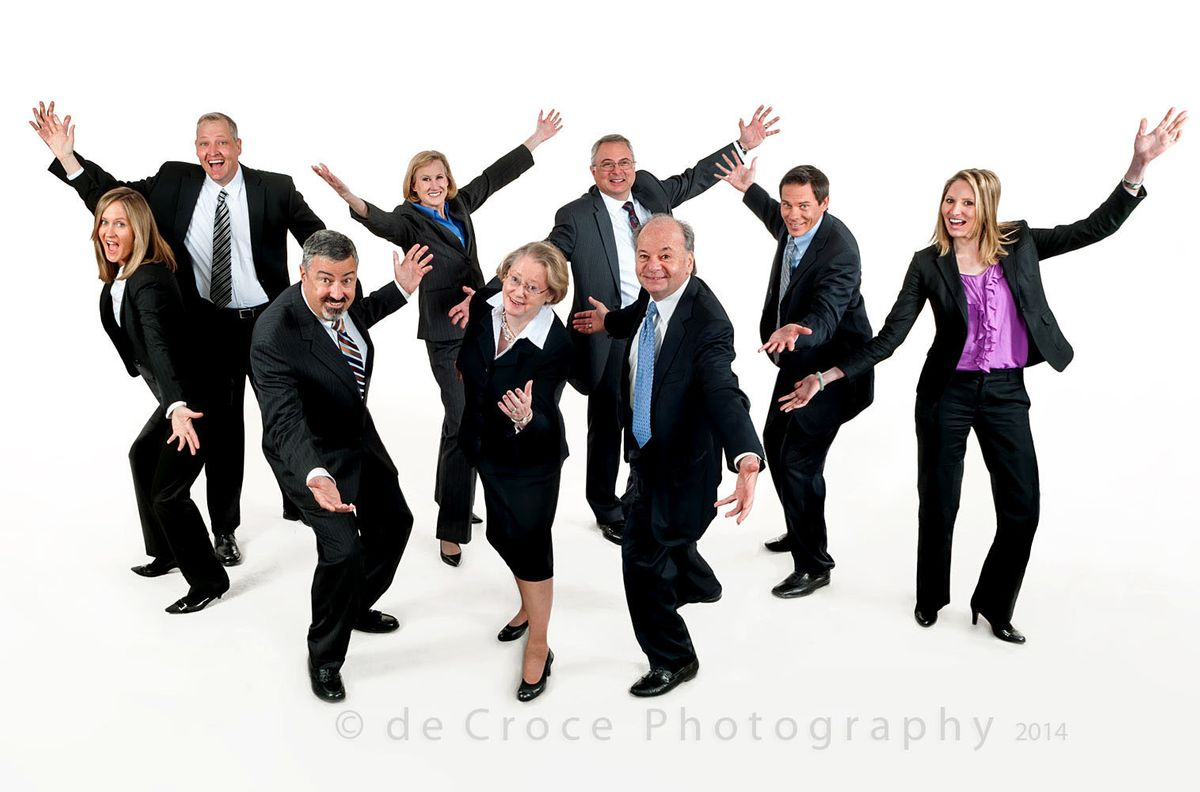 Business Group Photography - Humorous