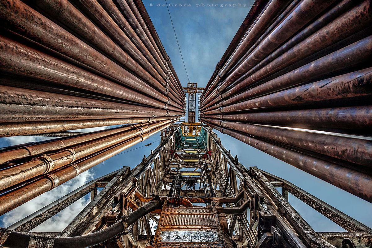 WPX Energy Oil Derrick