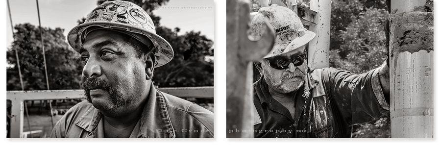 Roughneck Close Portraits