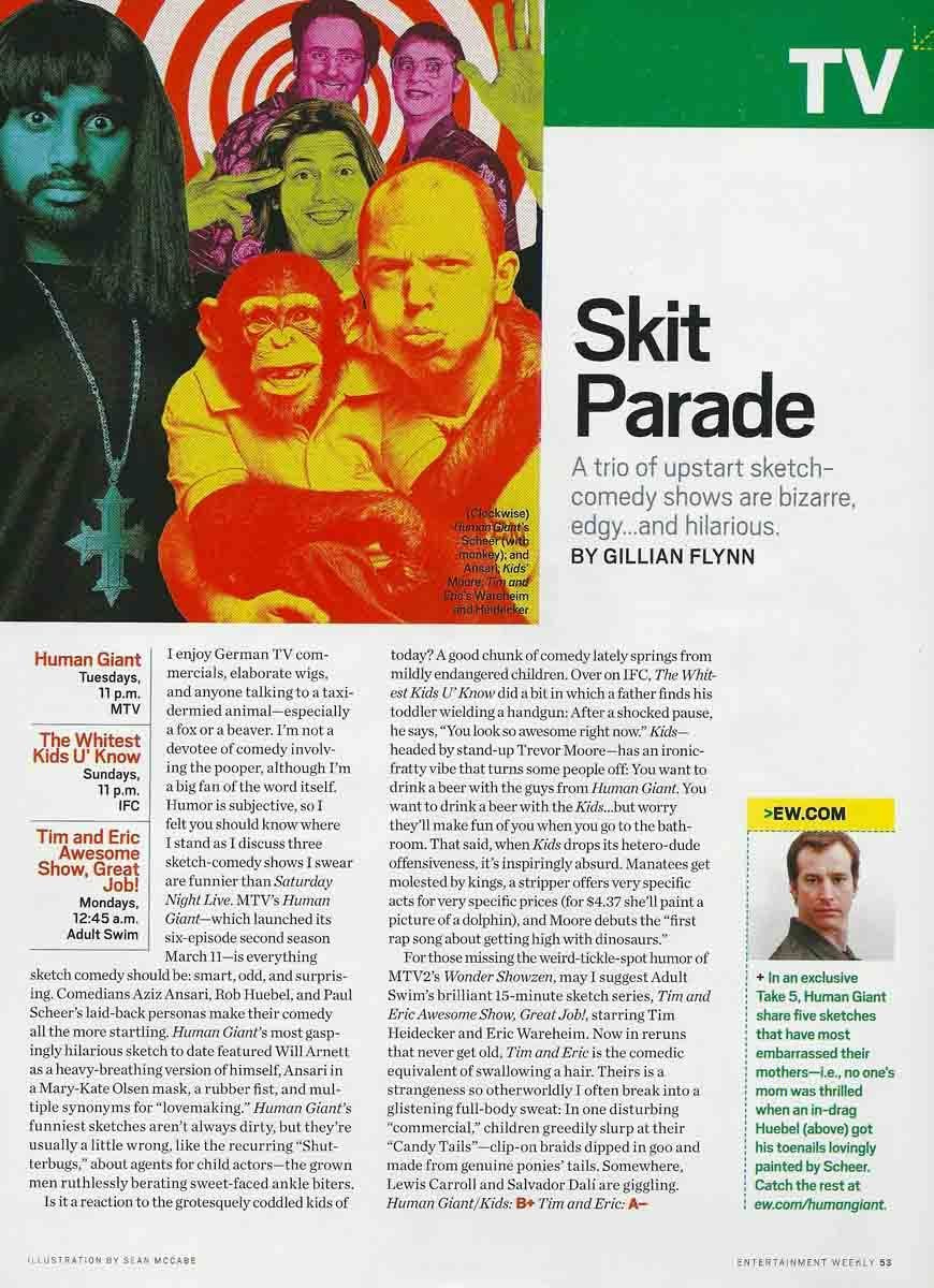 Entertainment Weekly - April 4, 2008