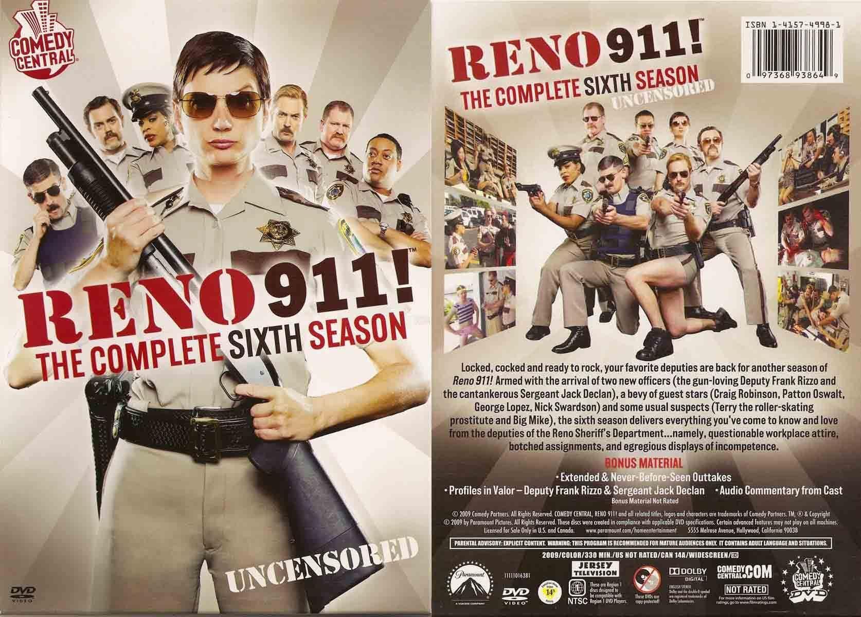 Reno 911! - Season 6 DVD