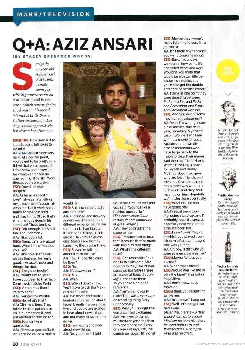 Esquire - January 2011